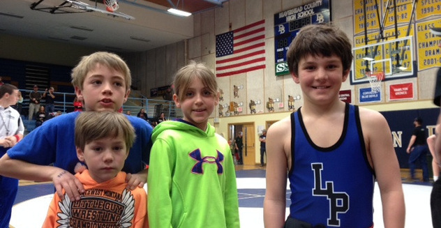 Little Gal - Little Guy State Wrestling Champions!